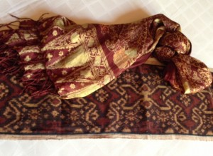 Purchases from batik store.